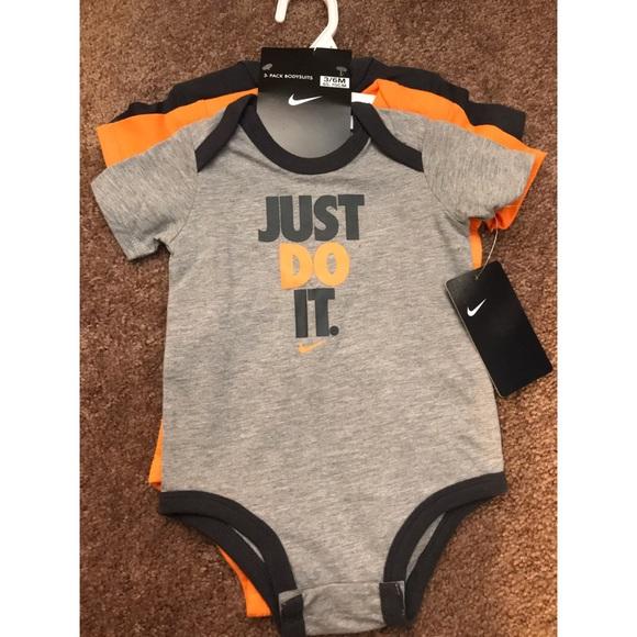 db8a215e4 Nike One Pieces | New Infantkids 3pc Bodysuits Size 36 Month | Poshmark